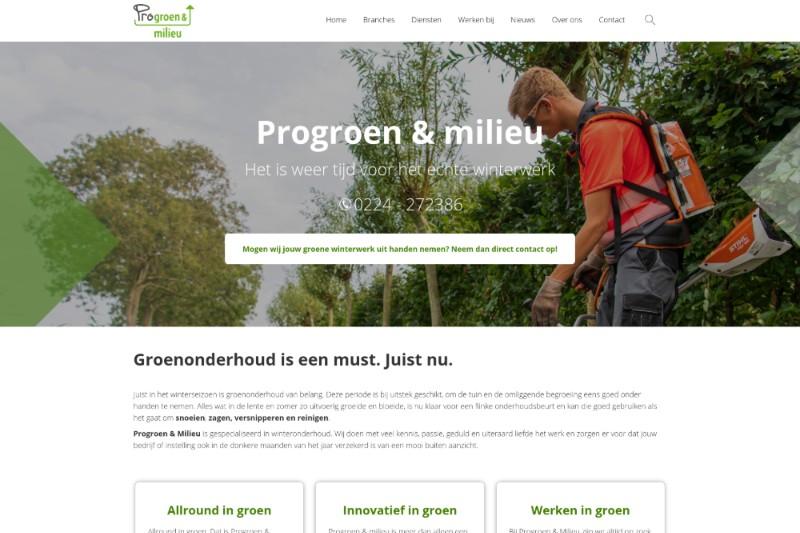 Progroen & Milieu is één van de divisies van Probedrijven.