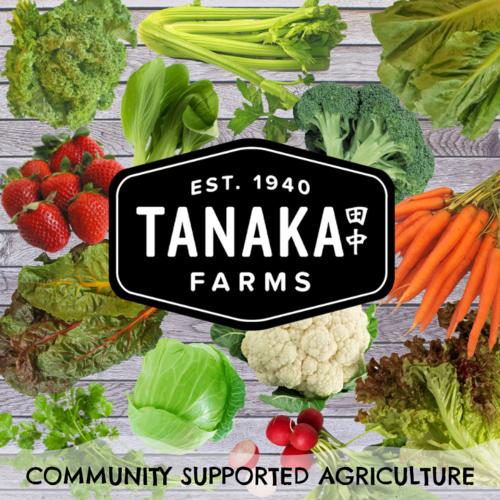 Tanaka Farms CSA Program Picture Christian Academy in Orange CA