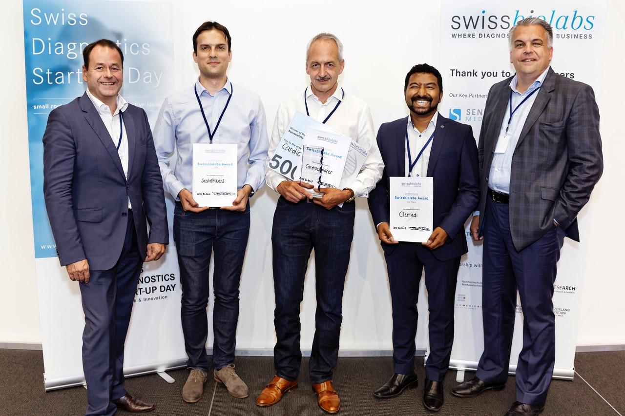 Exploris at Swissbiolabs Award