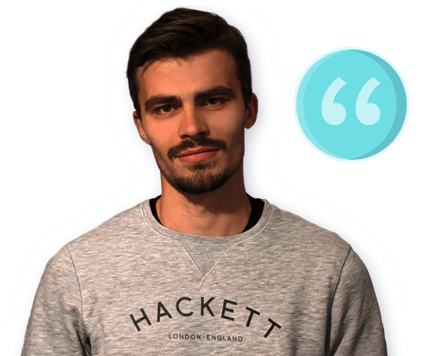 Meral Hadzhilar, a Frontend Developer who works at Kinder, shares his experience when searching for a job using the OfferZen platform.