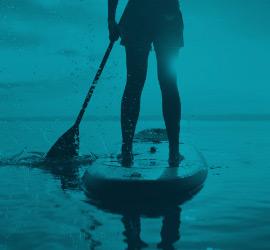 activité de Stand up paddle