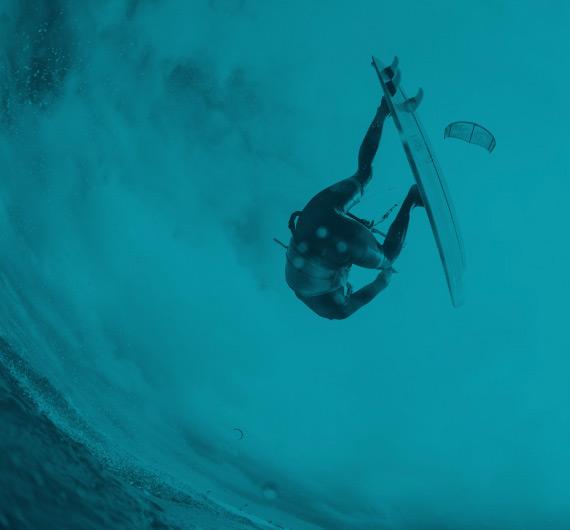 activité de kitesurf