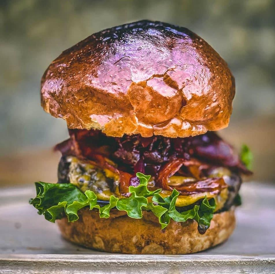 rančerský burger