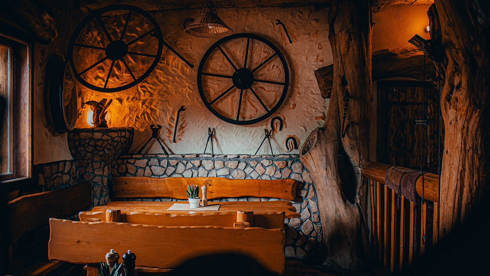 Prostory Restaurace Ranč.