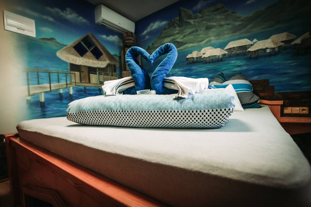 Wellness apartmán Tahiti.