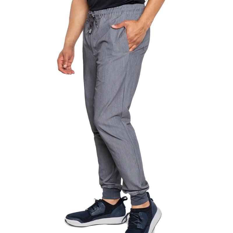 Bowen Jogger in Slate heathered fabric