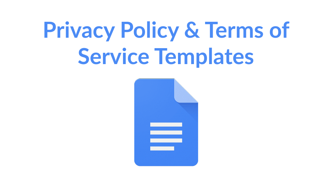 Privacy Policy & TOS Template