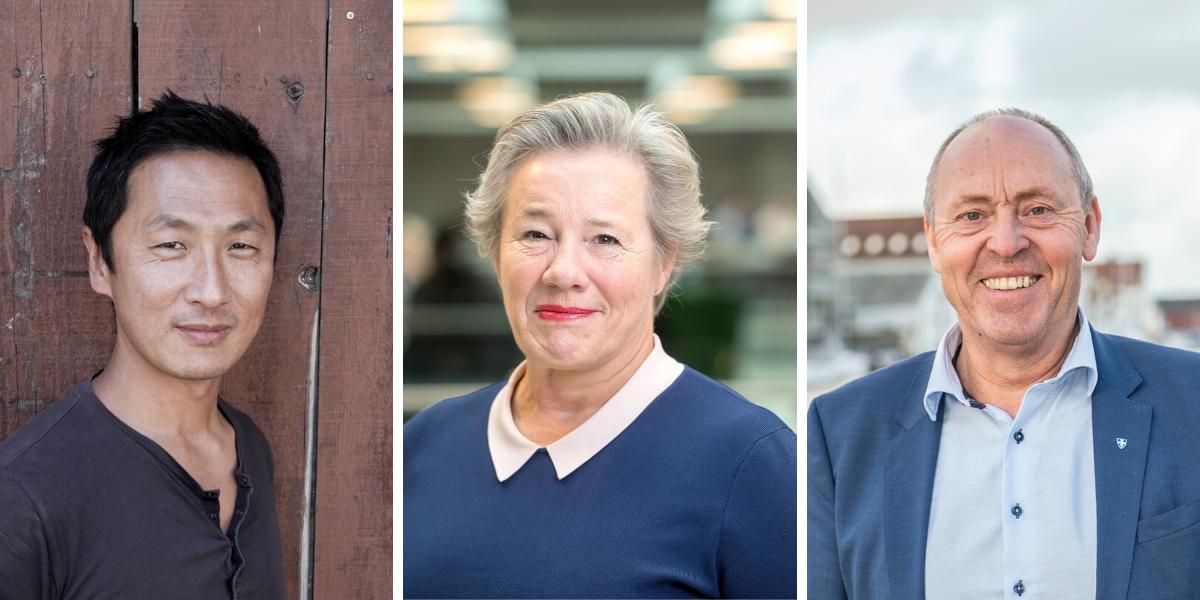 Per Ivar Selvaag, Liv Reidun Grimstvedt og Arne Bergsvåg