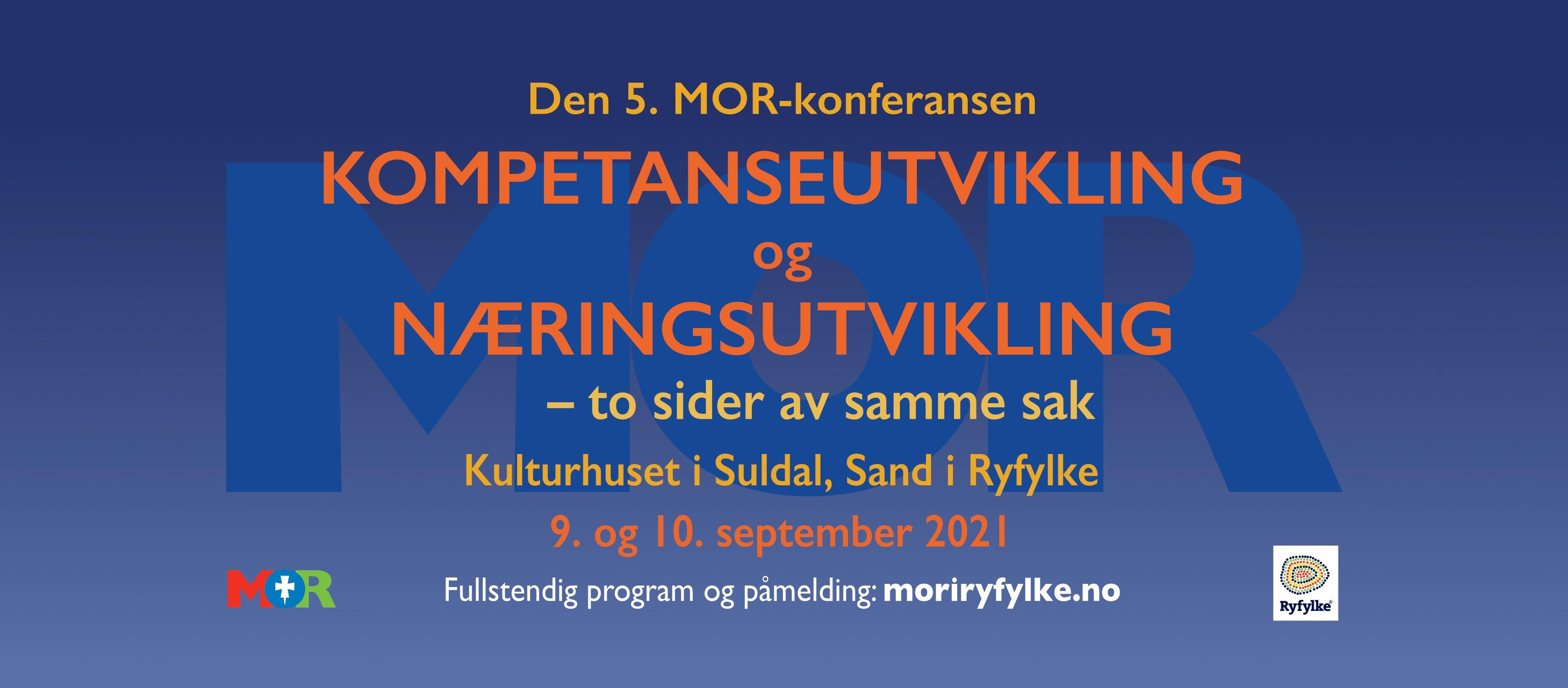 Bilde av invitasjon til MOR-konferanse