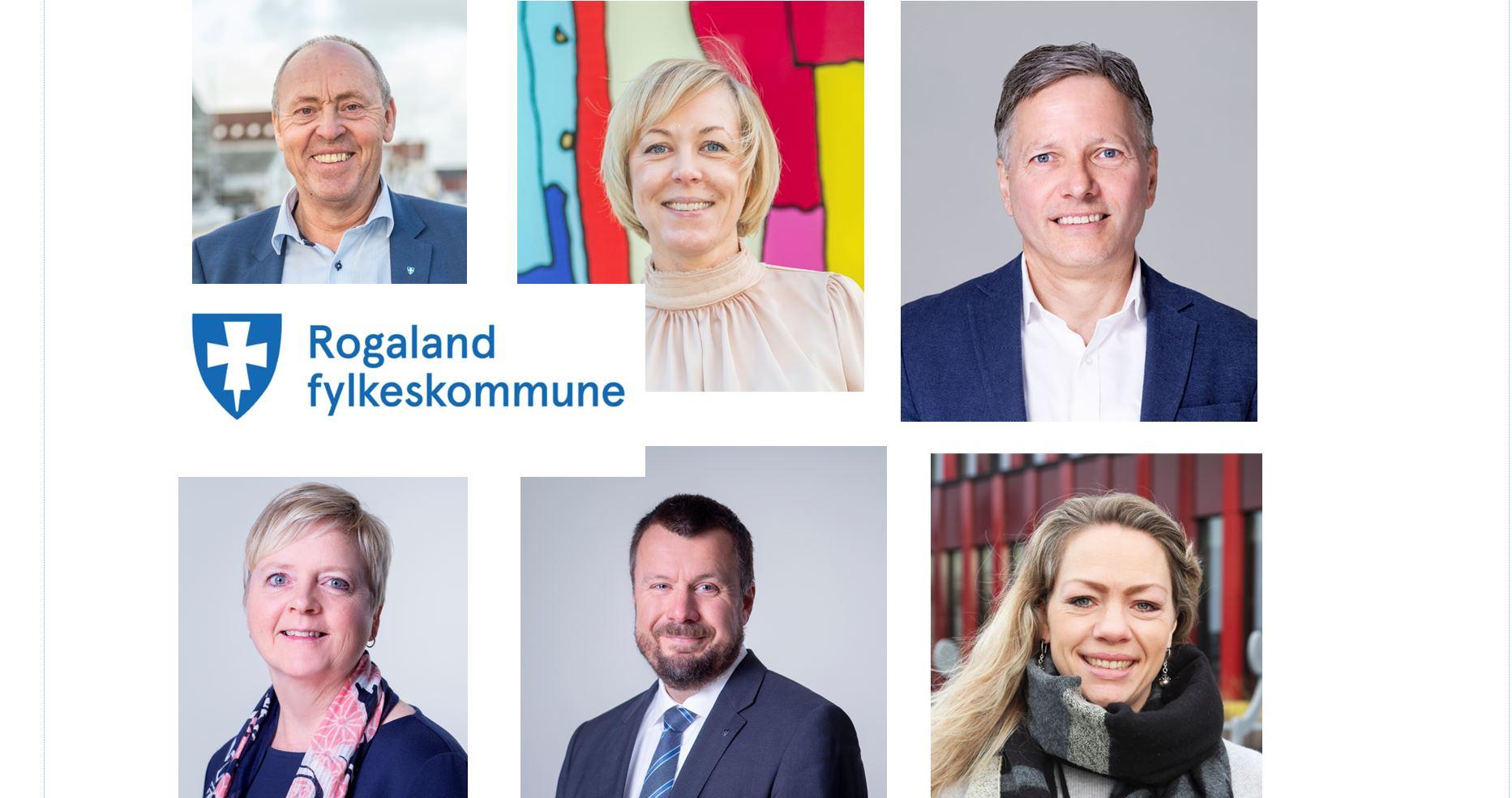 Fylkesordfører, fylkesrådmann og fylkesdirektører