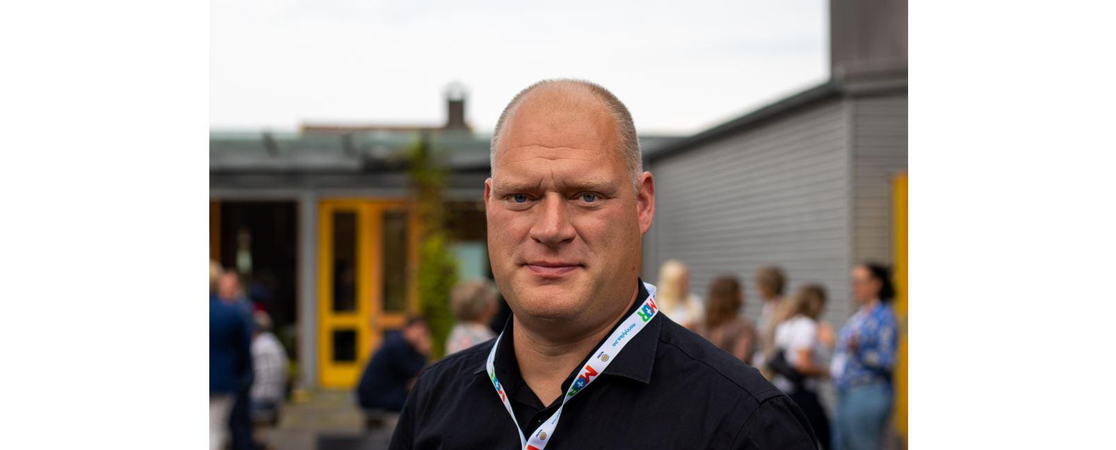 Bilde av rektor Eirik Jåtten