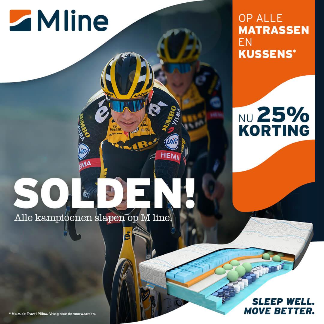 MLINE -25% SOLDEN