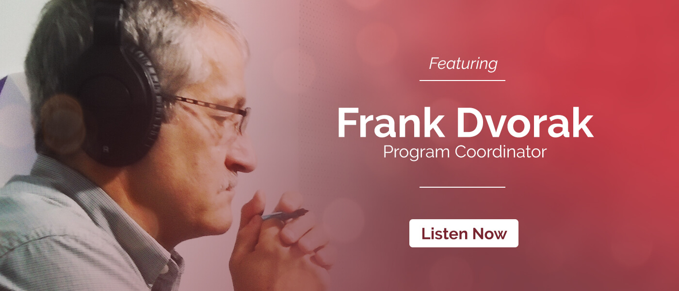 Episode 18: Field Recordings featuring Frank Dvorak
