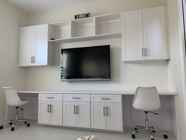 Custom Home Office Storage In South Florida The Closet Doctor Rx