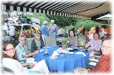 The Inn celebrated 35 years with a clambake for the greater community!