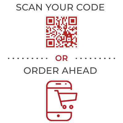 Scan your code or Order Ahead Icon