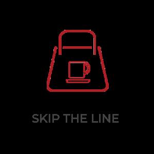 Skip the line icon