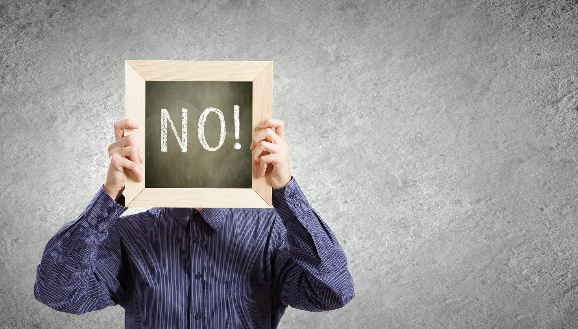 Say No Being An Entrepreneur
