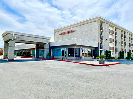 Former Double Tree by Hilton