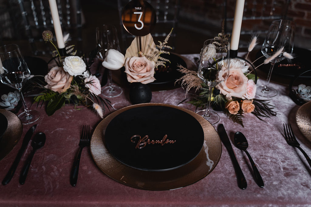 Moody Inspired Reception Ideas