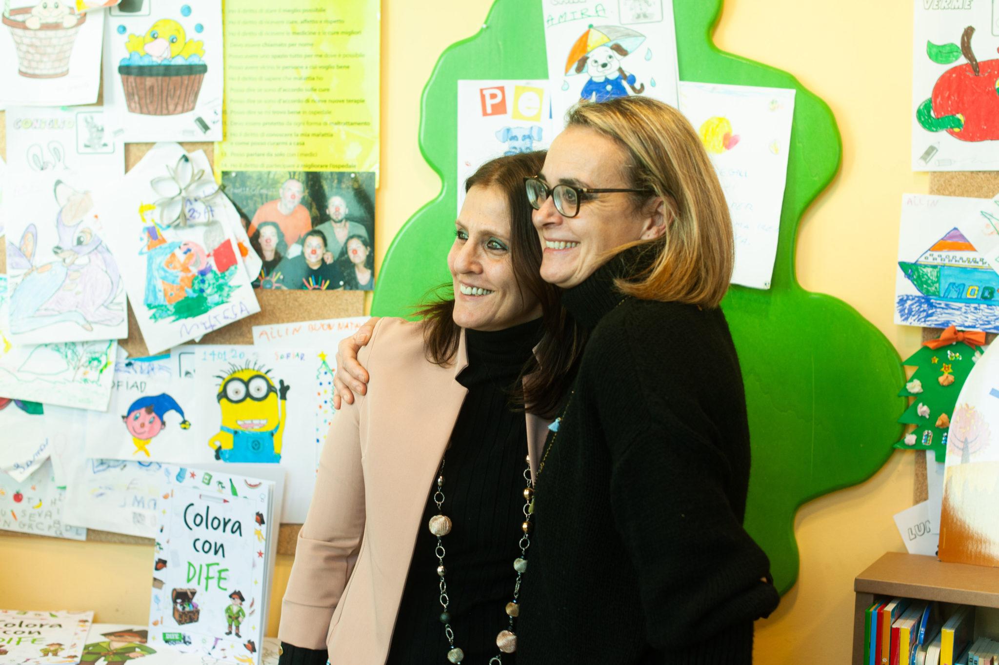 Maria Giovanna Seghi e Federica Iacomelli, Responsabili della libreria Giunti al Punto di Pistoia