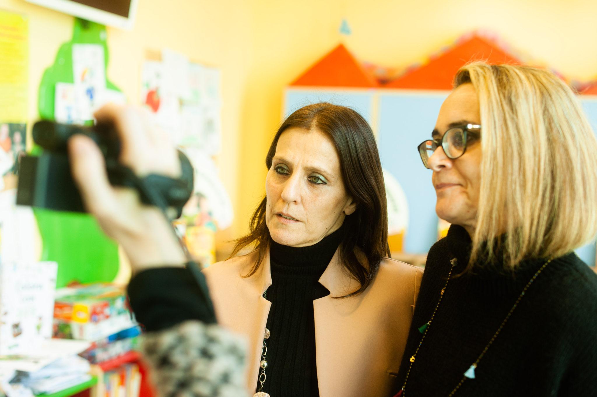 Maria Giovanna Seghi e Federica Iacomelli rispondono alle domande della stampa