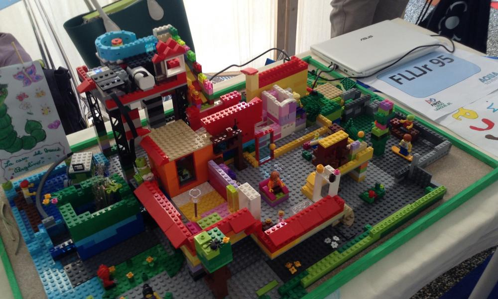Prototipo in gara alla FIRST® LEGO® League Junior di Pistoia