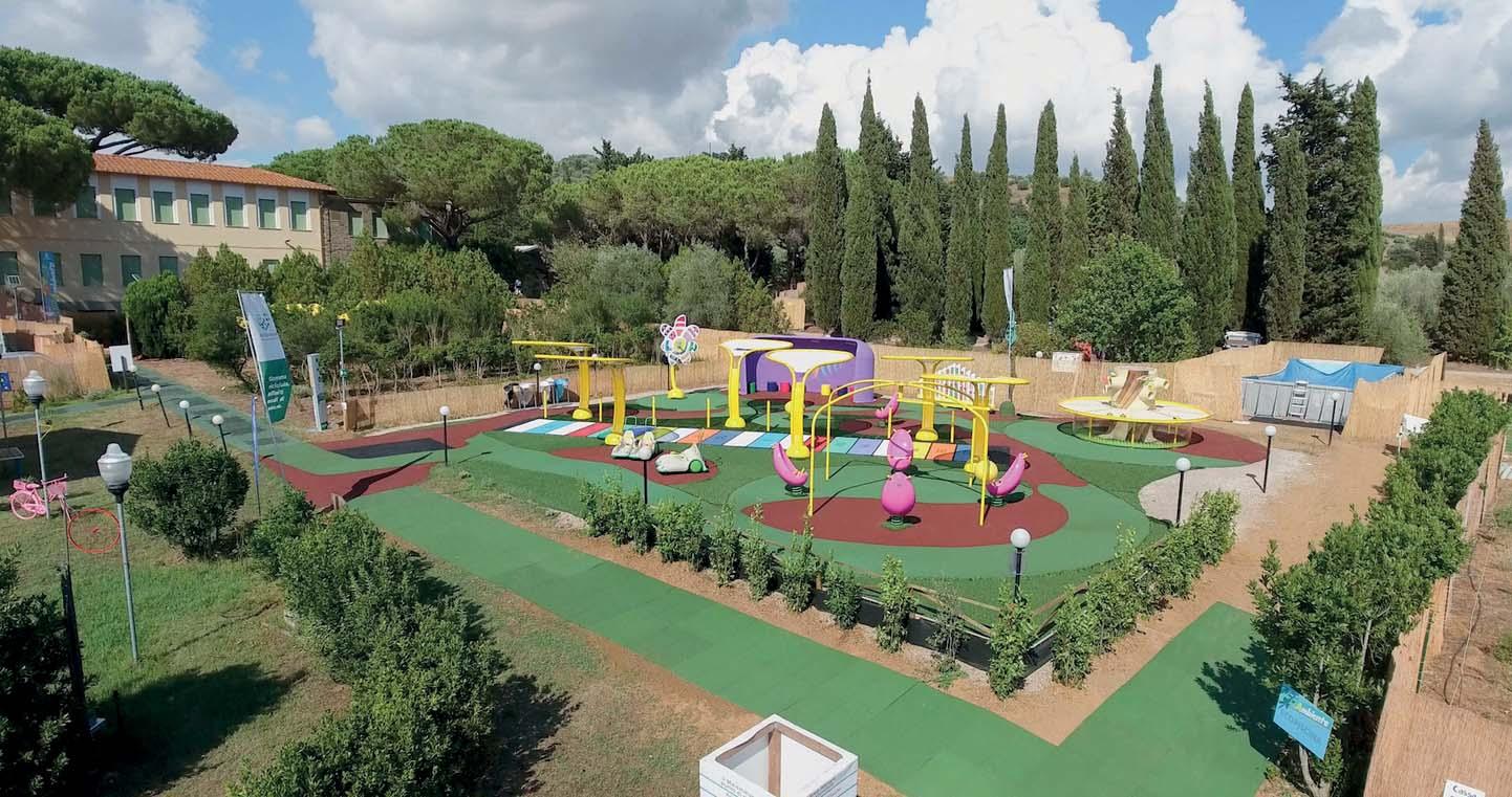 Il parco Tuttingioco a Rispescia (GR)