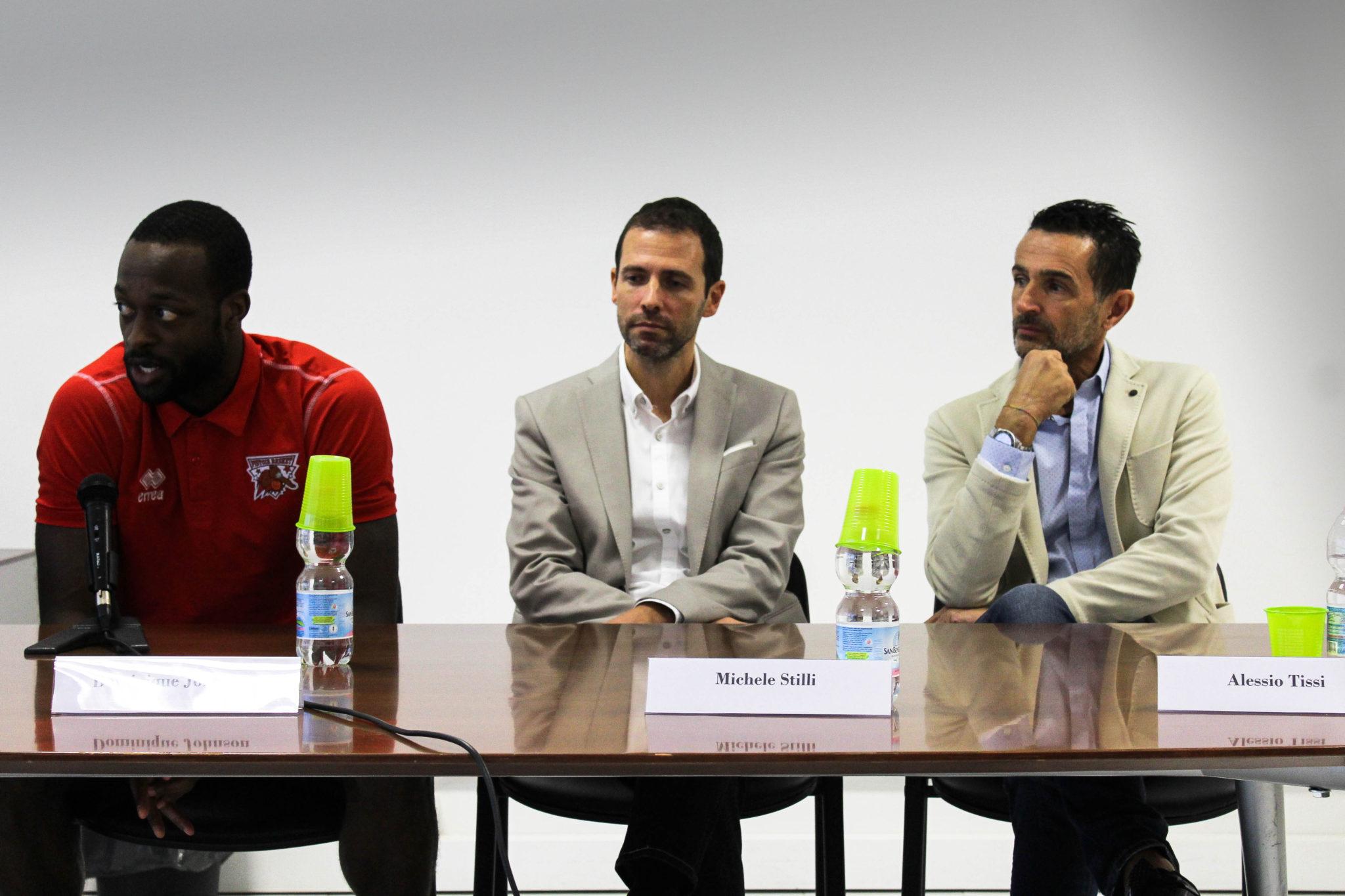 Conferenza OriOra: Dominique Johnson, Michele Stilli, Alessio Tissi