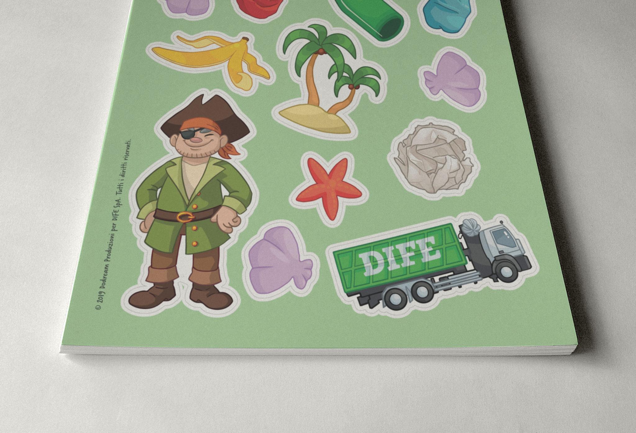 Stickers DIFE-nuovi gadget