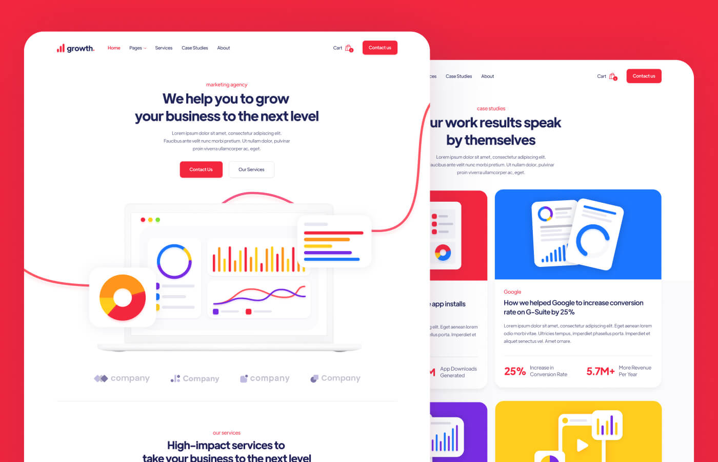 Marketing Agency Webflow Template