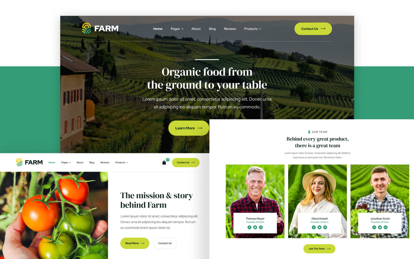 Agriculture & Farm Webflow Template