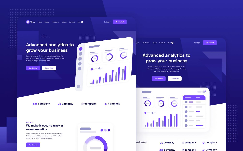Tech Webflow Template & UI Kit
