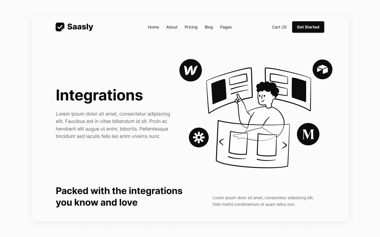 SaaS Webflow Theme