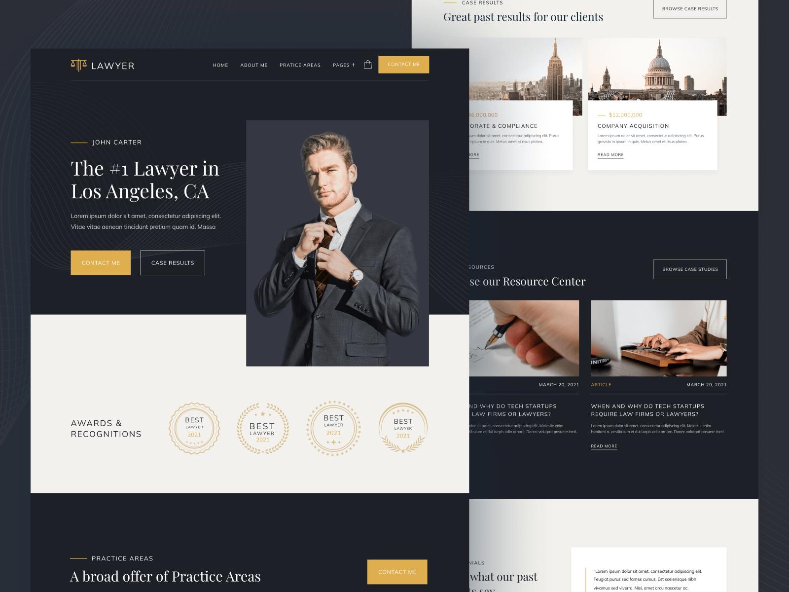 Lawyer Webflow Template