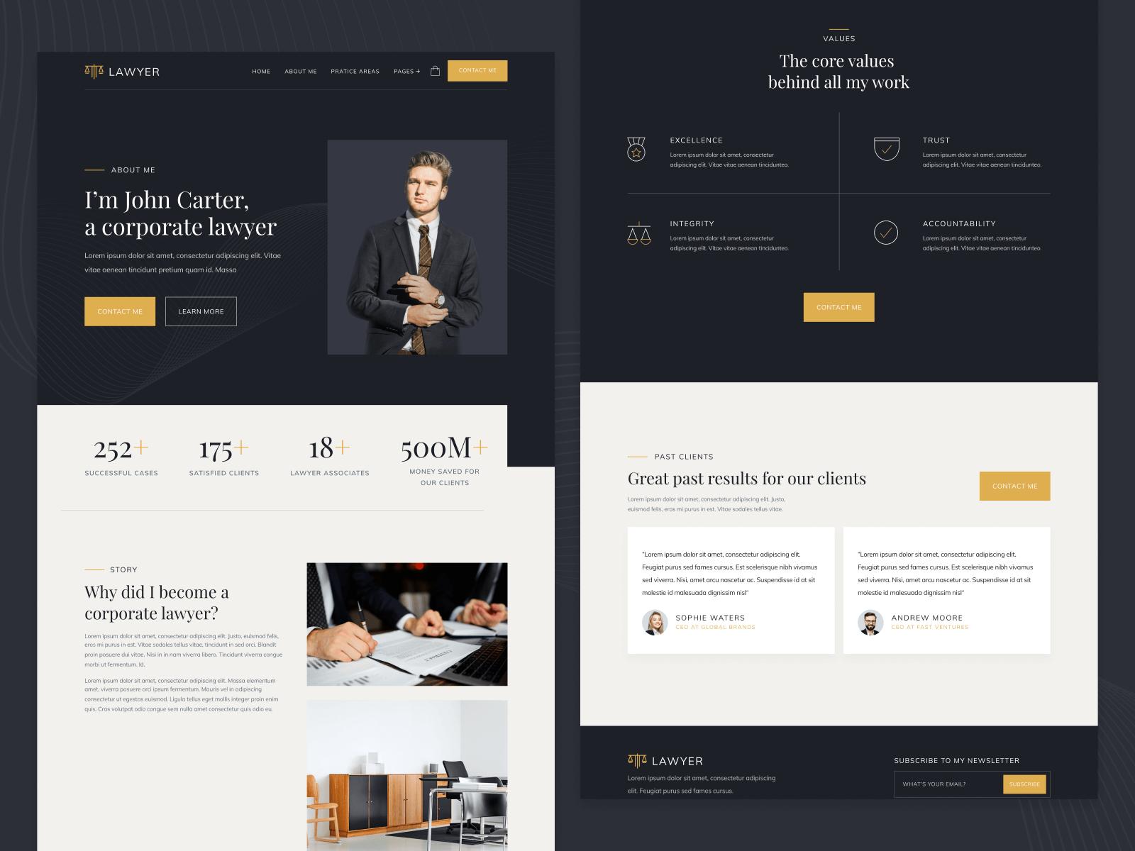 Attorney Webflow Template