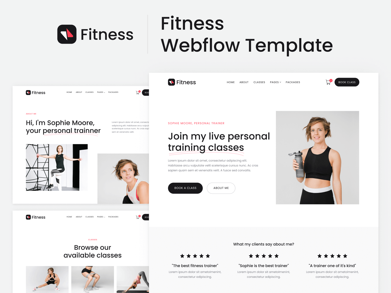 Fitness Webflow Template