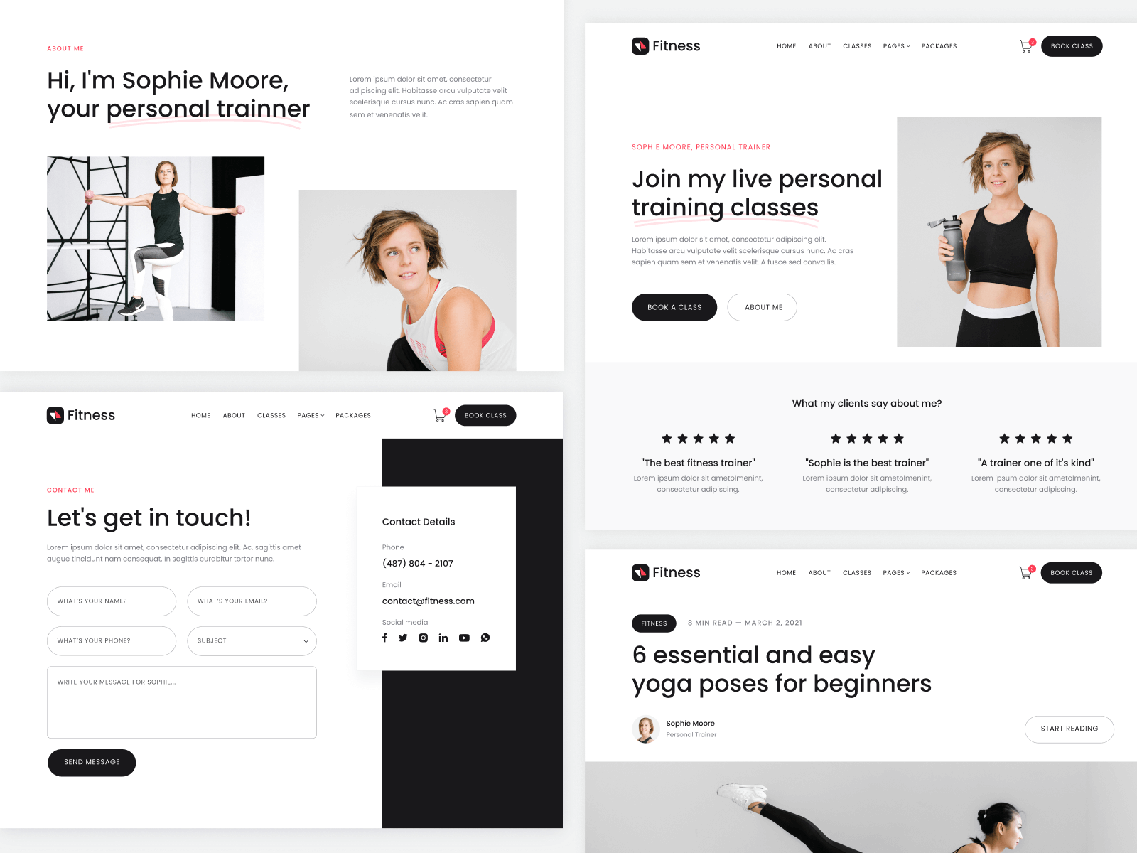 Gym Fitness Webflow Theme