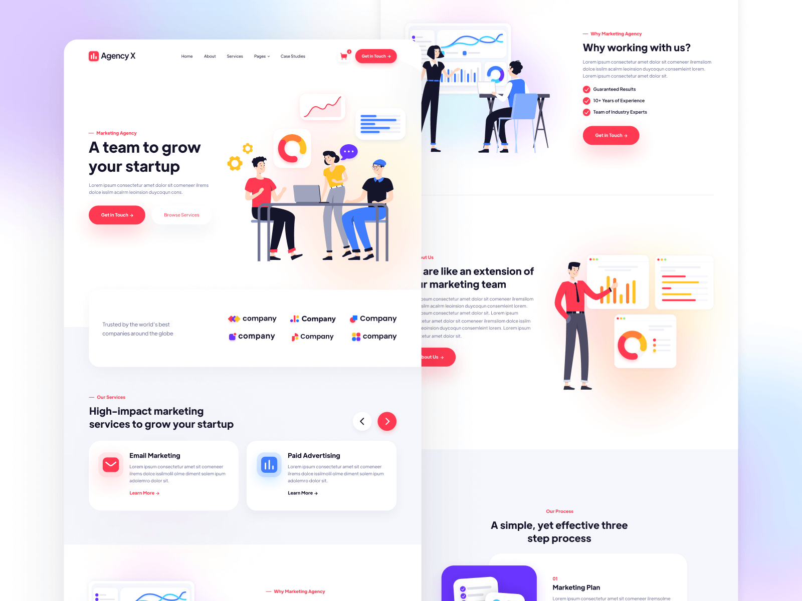 Marketing Agency Webflow Template & UI Kit
