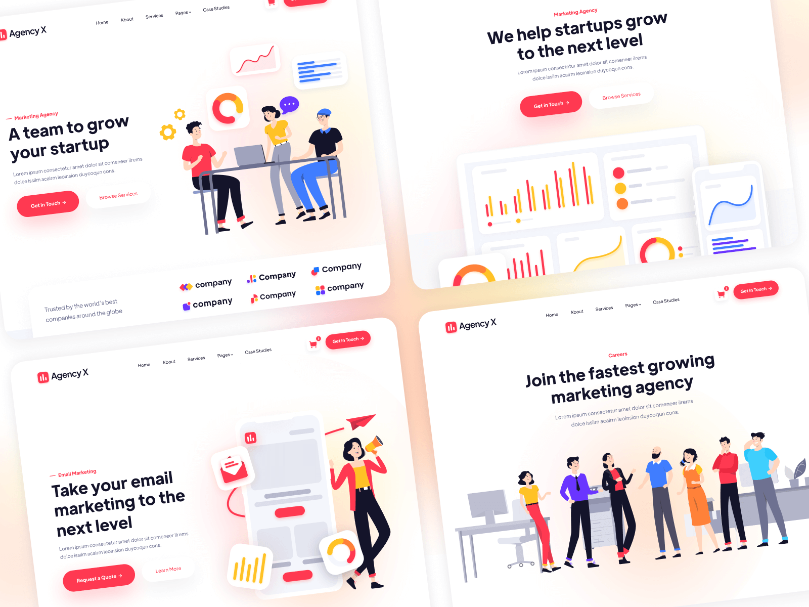 Marketing Agencies Webflow Template