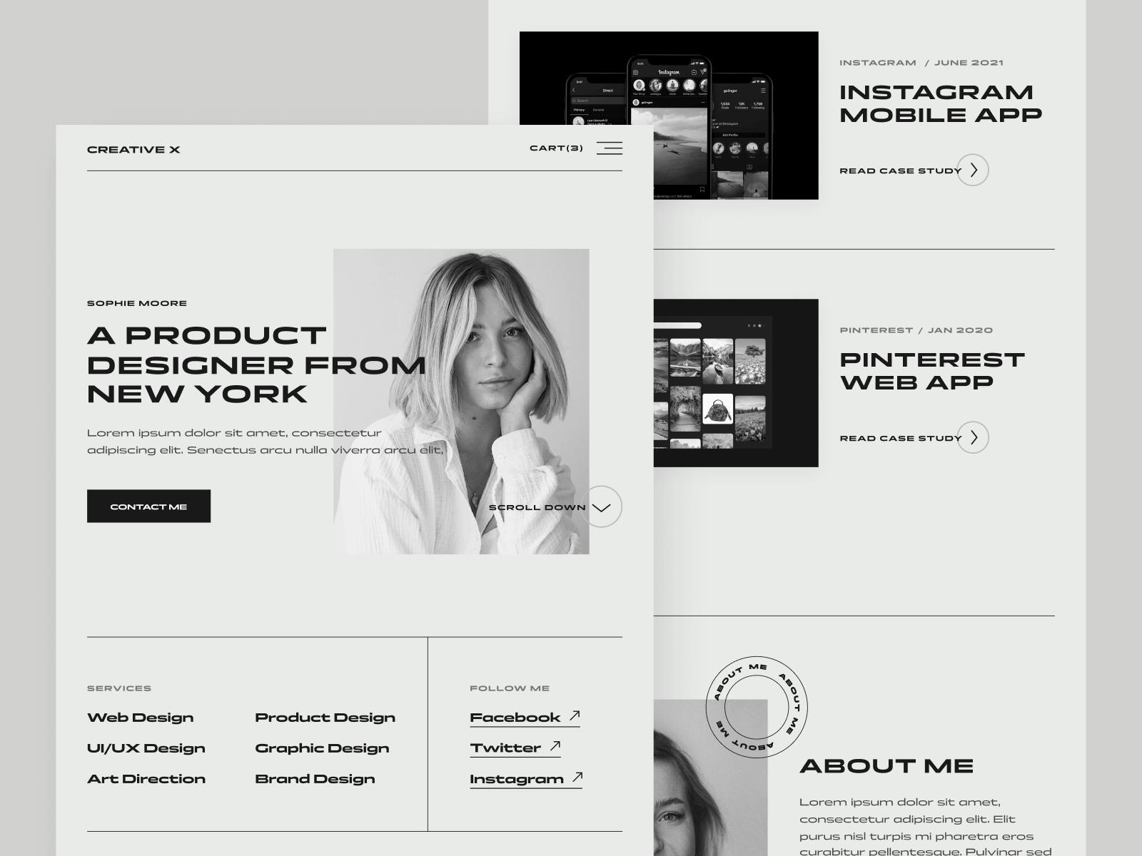 Minimal Classy Webflow Website Template