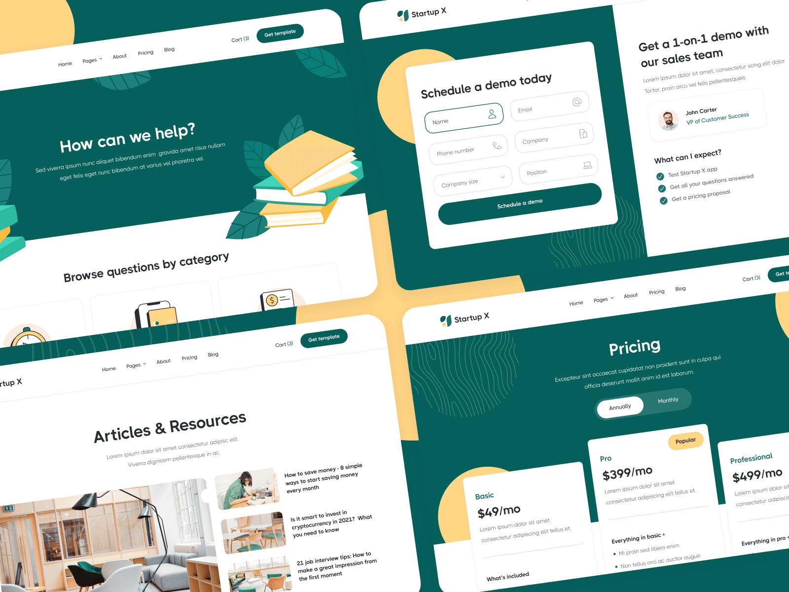 Startup Webflow Theme