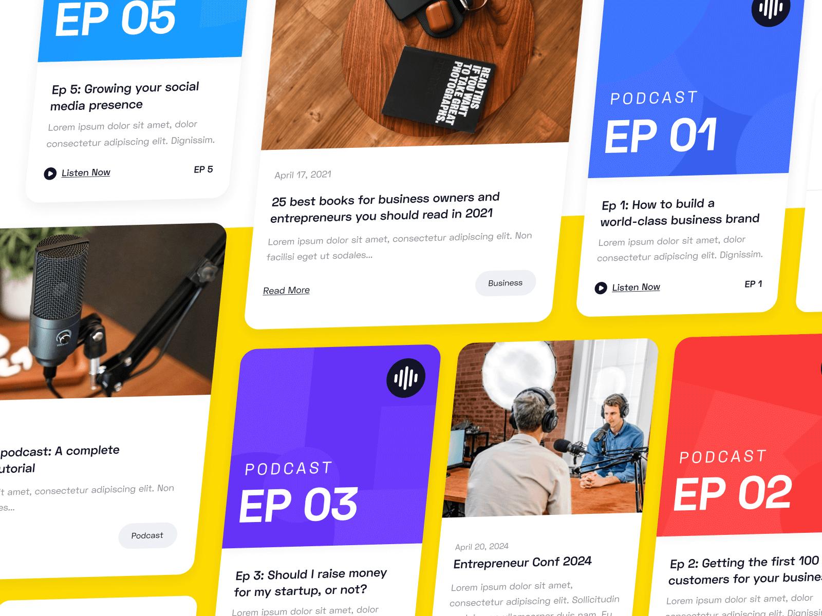 Podcast Show Webflow Website Template