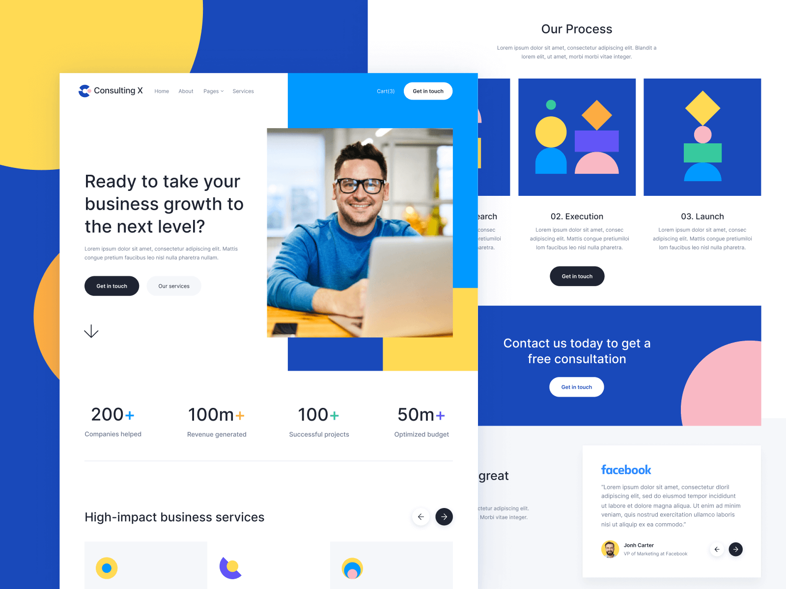 Consulting Webflow Template