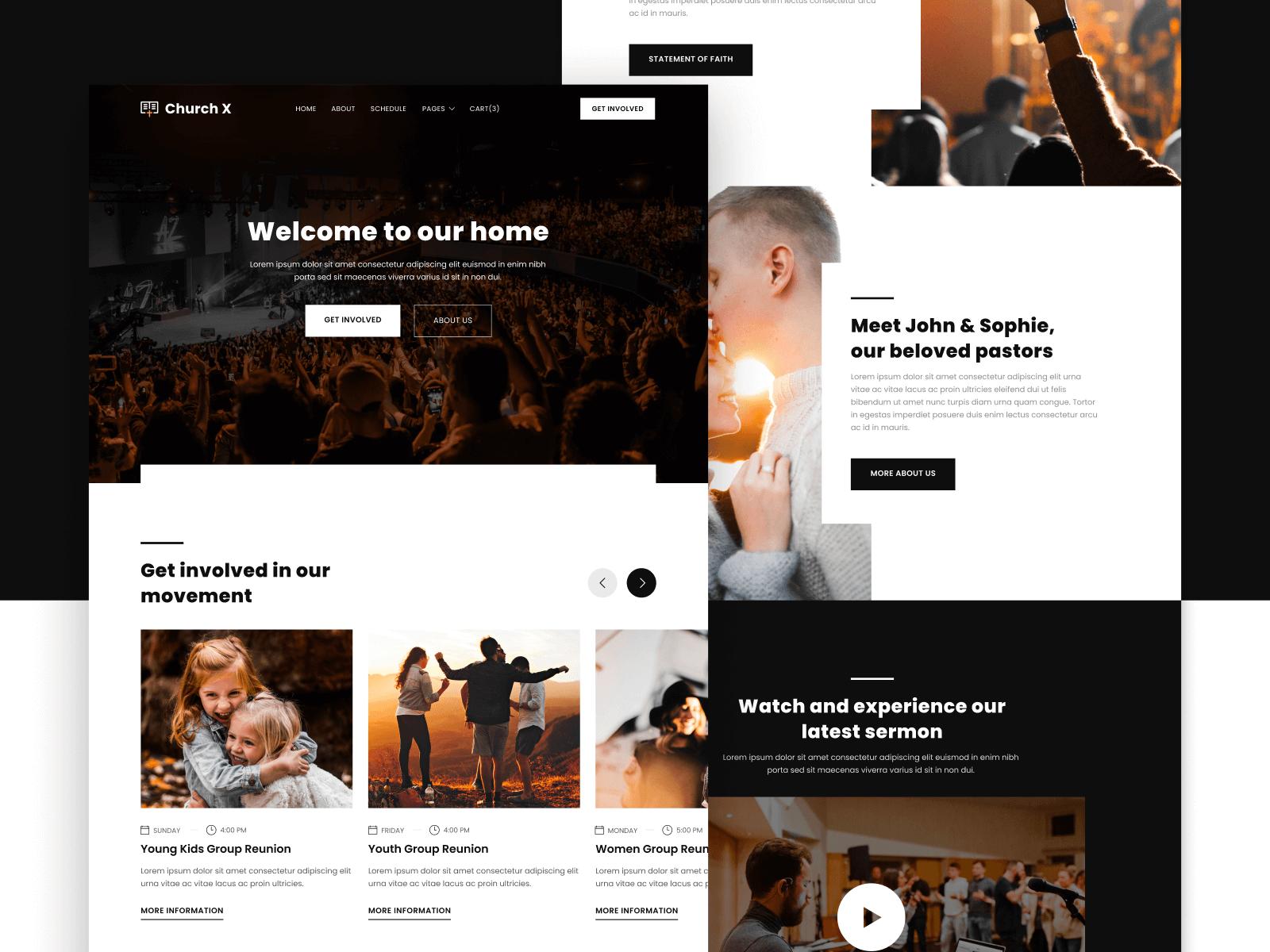 Church Webflow Template