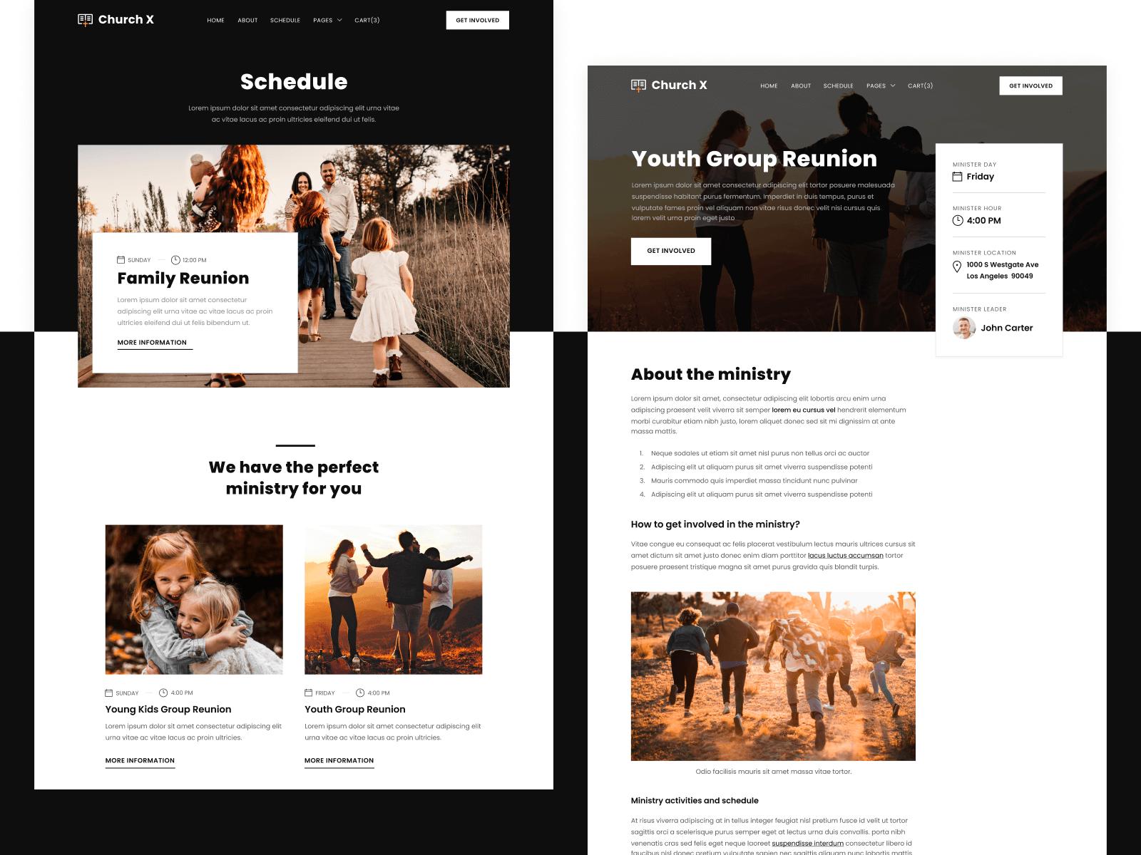 Church Webflow Theme
