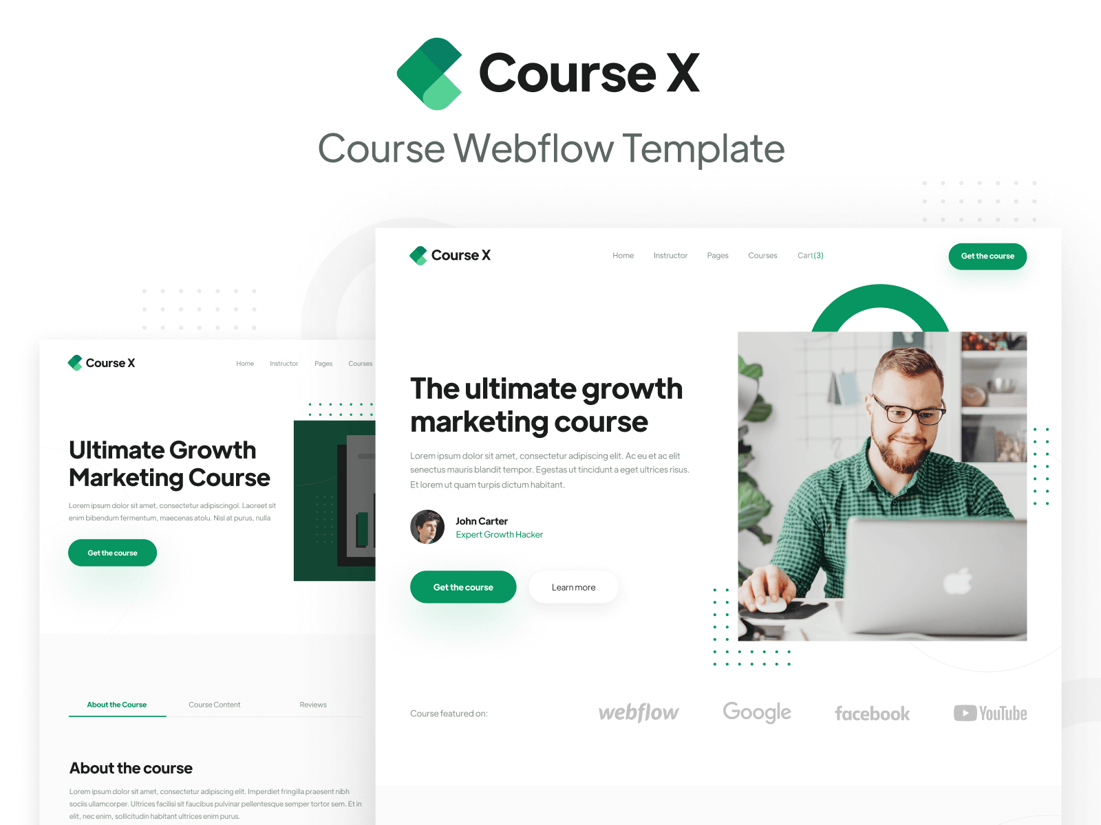 Course Webflow Template