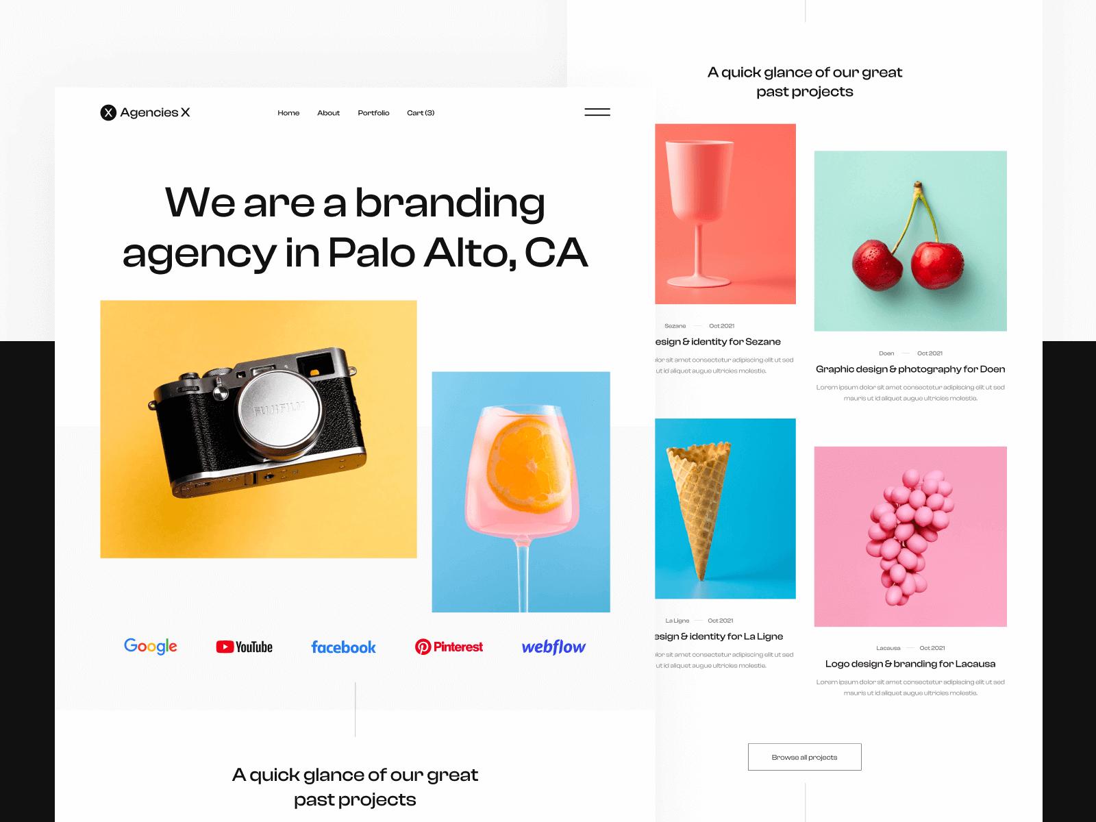 Creative Agency Webflow Template & UI Kit
