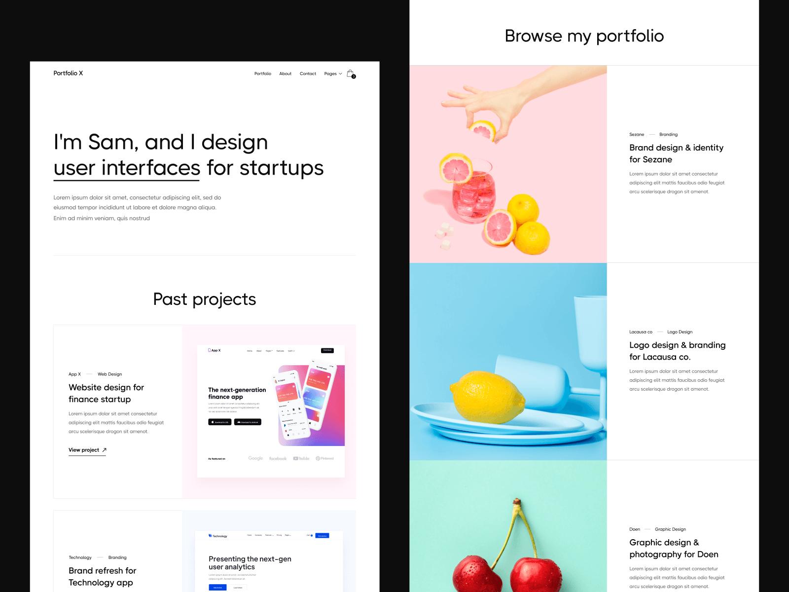 Creative Portfolio Webflow Template