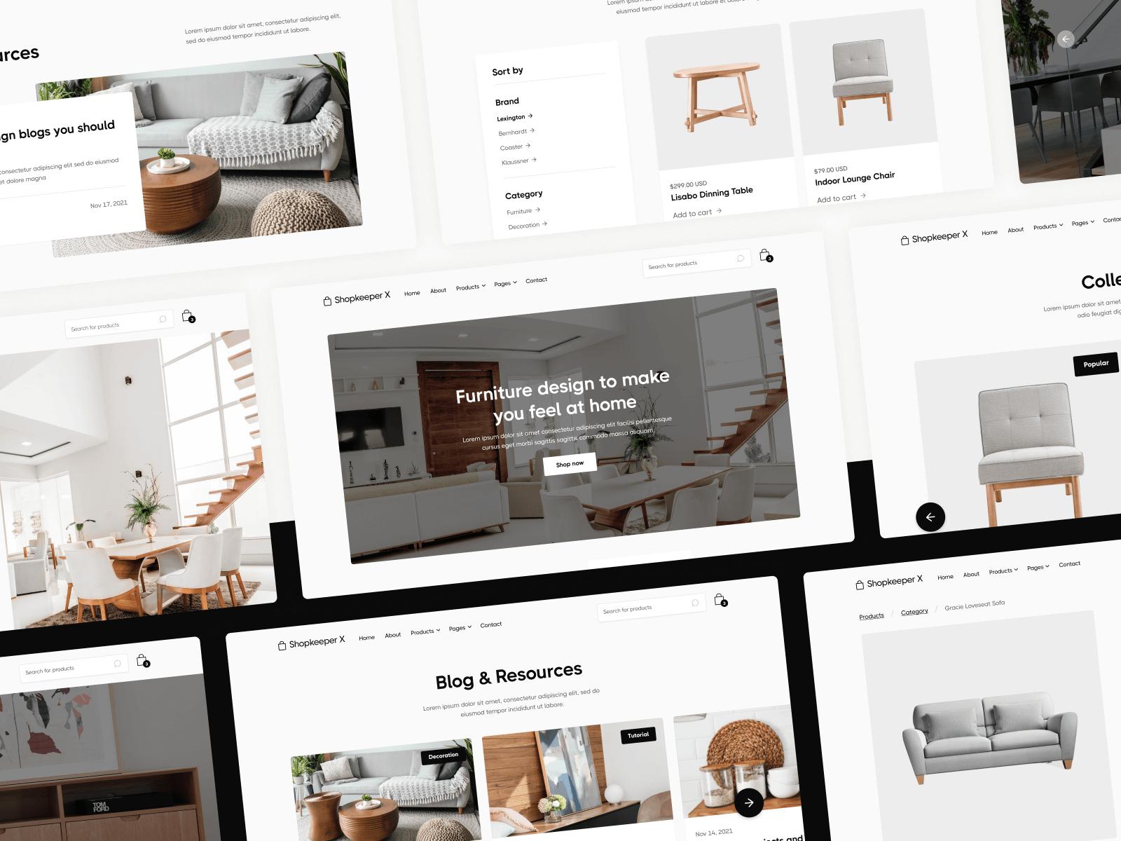 Shop Webflow Template